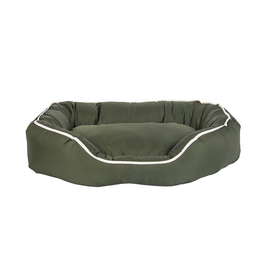 Cama Oval Hidrorepelente Urban Puppy Musgo