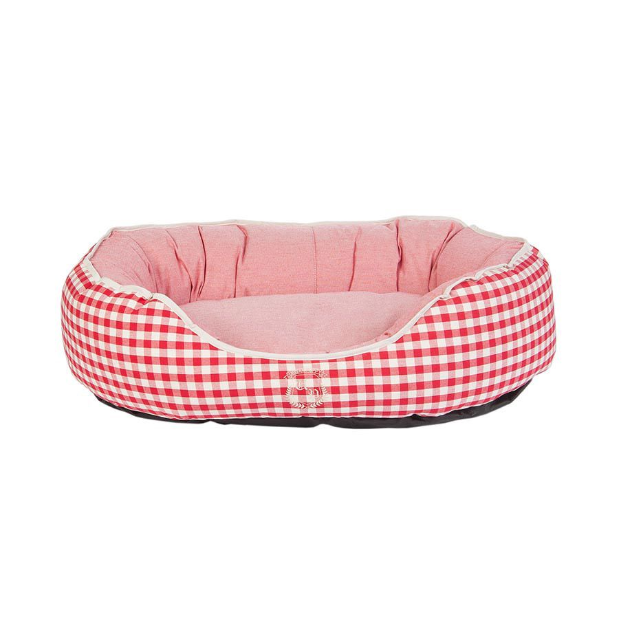 Cama Oval Lonita Vermelho Urban Puppy