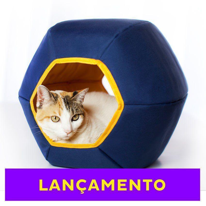 Cama para Gato Toca Mundi Gatton Azul
