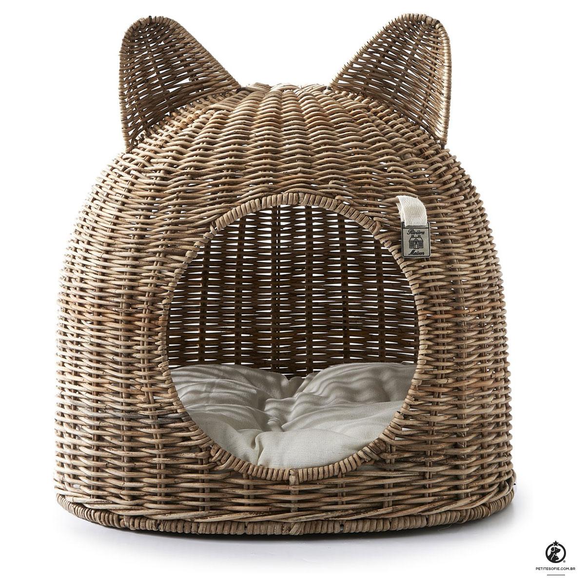 Cama para Gatos Artesanal de Luxo Chaise Electra