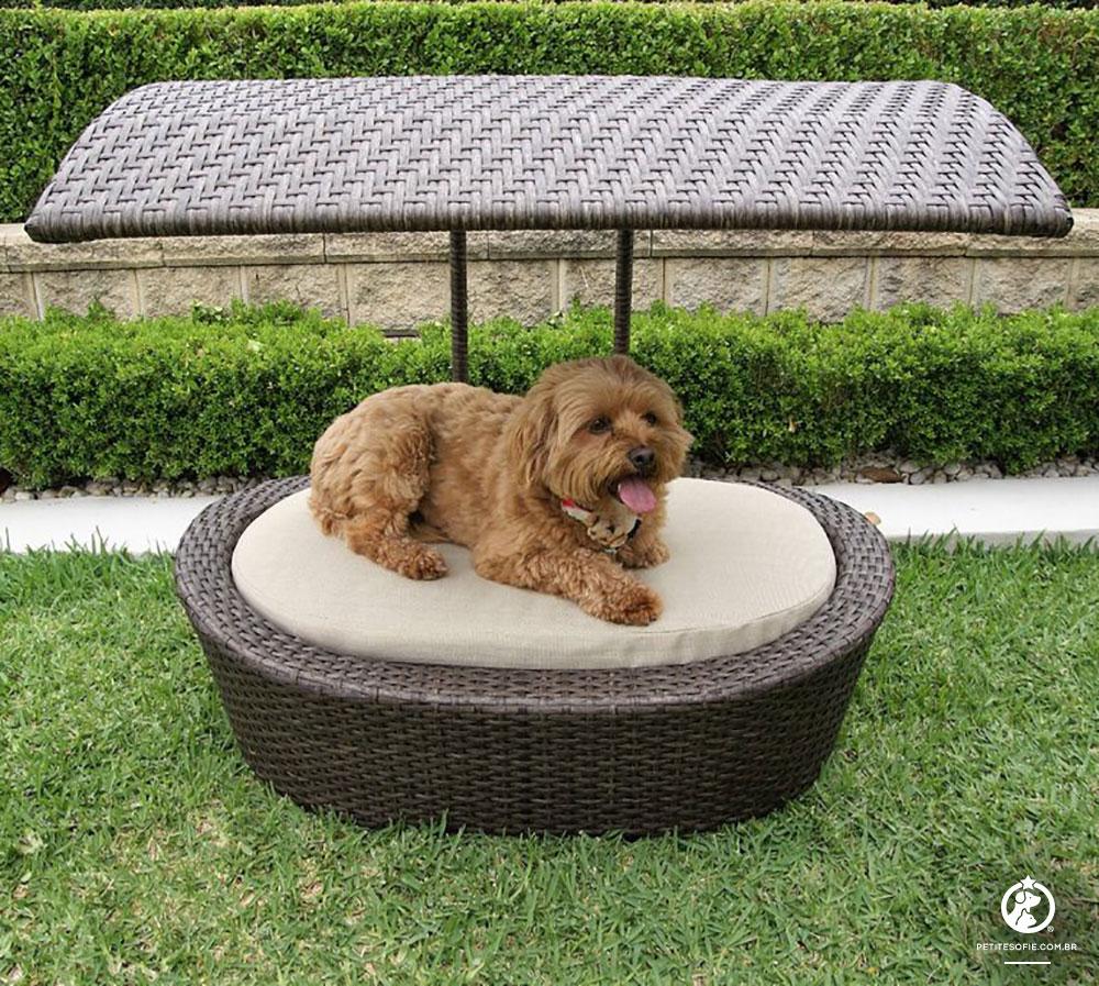 Cama Pet Artesanal de Luxo Chaise Oscar