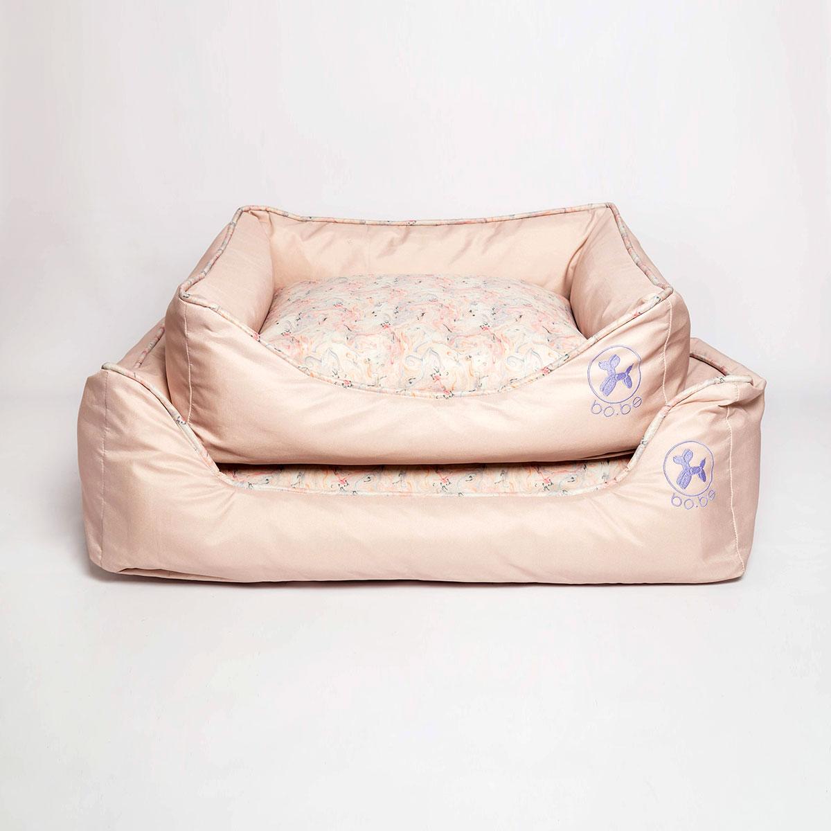 Cama Retangular Bo.be Marble Pink