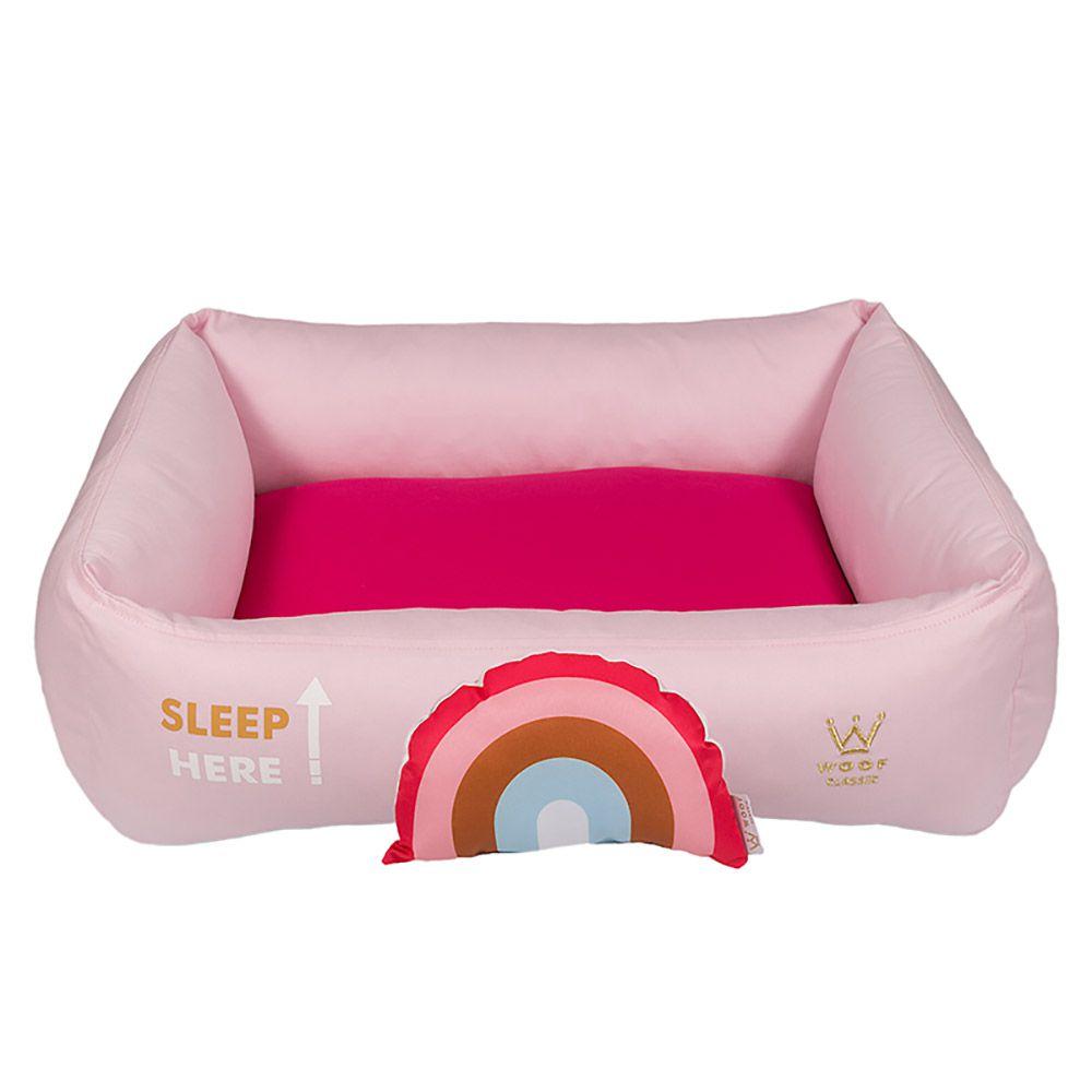 Cama Woof Classic Sweet Dreams Side Sleep Rosa