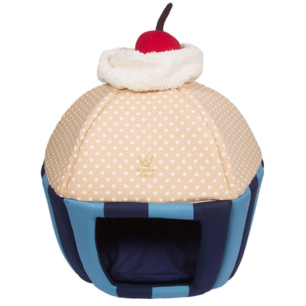 Caminha Cupcake Woof Classic Listra Azul Marinho