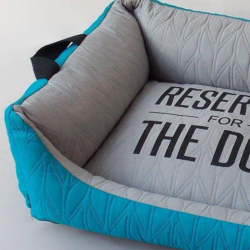 Caminha para Cachorro Beds for Pets Matelassê Azul