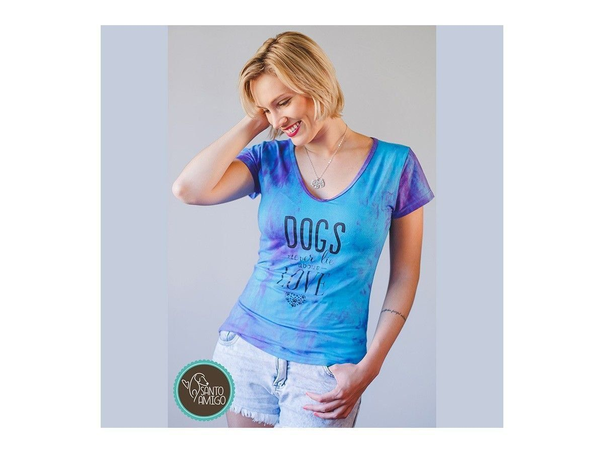Camiseta Dogs Never Lie
