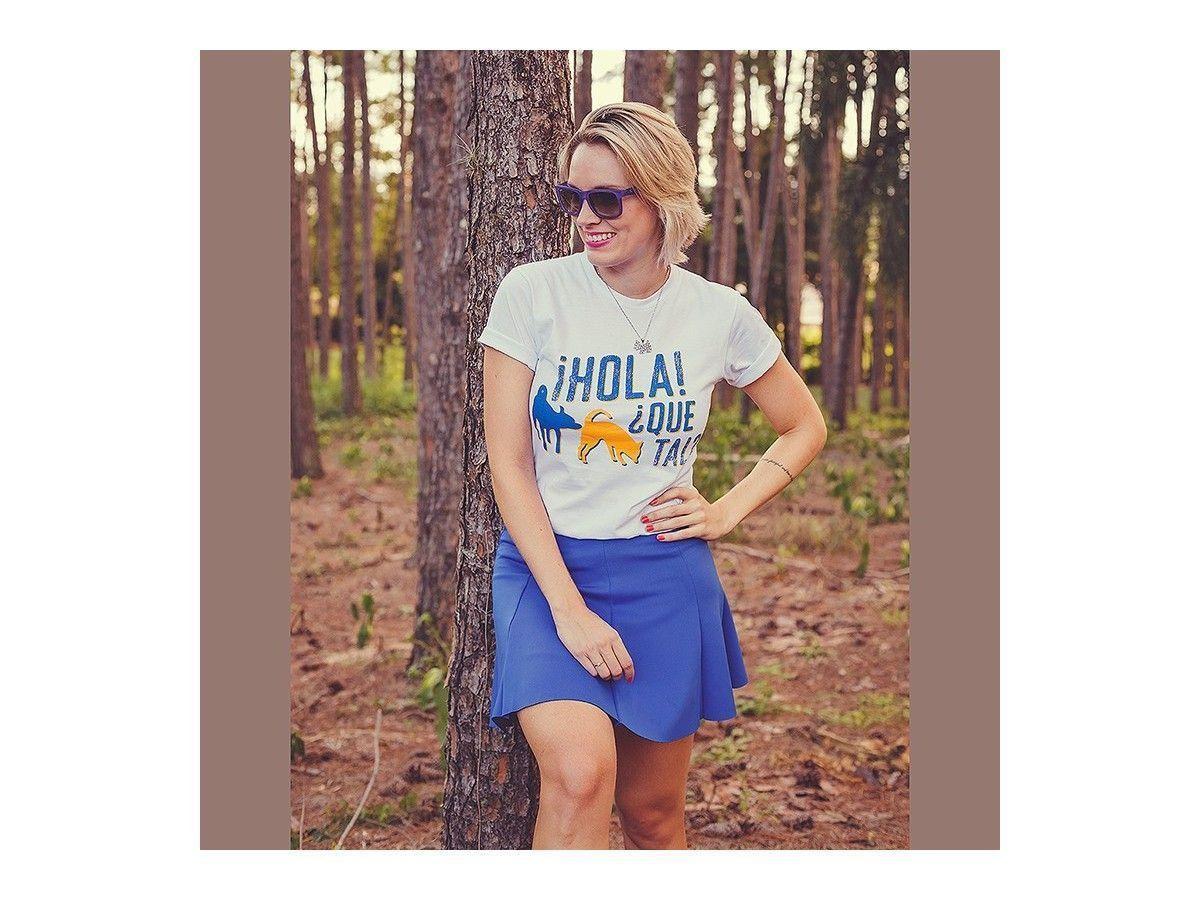 Camiseta Unissex ¿Hola Que Tal?