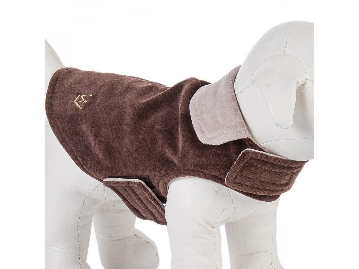 Capa de Plush Dupla Face Woof Classic Marrom - P (12)