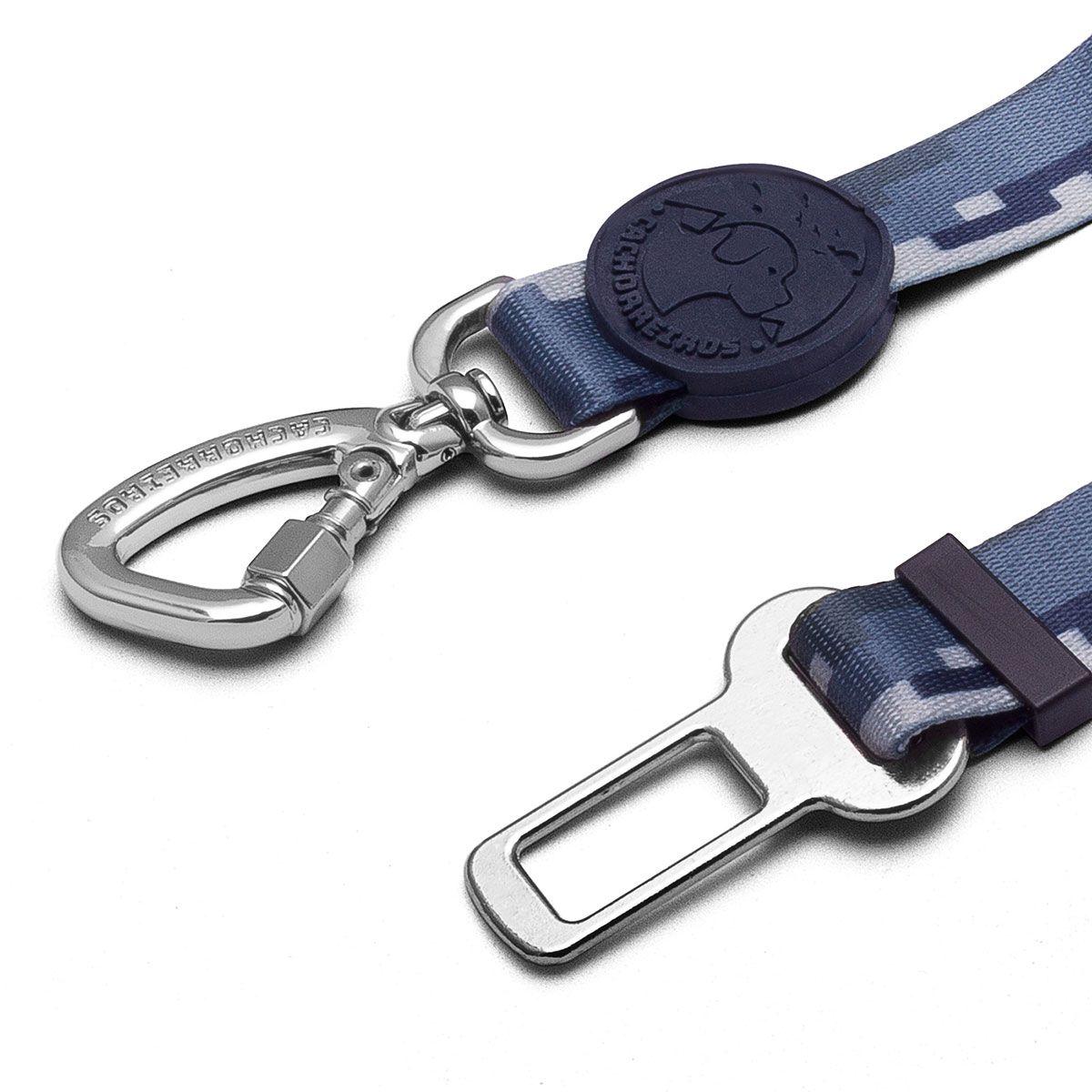Cinto de Segurança Cinza para cães Linha Educativa by Cleber Santos®