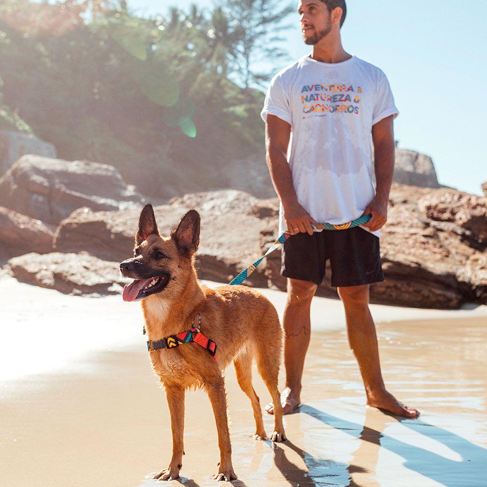 Coleira Peitoral Easy Walk para cachorro T-Mutts