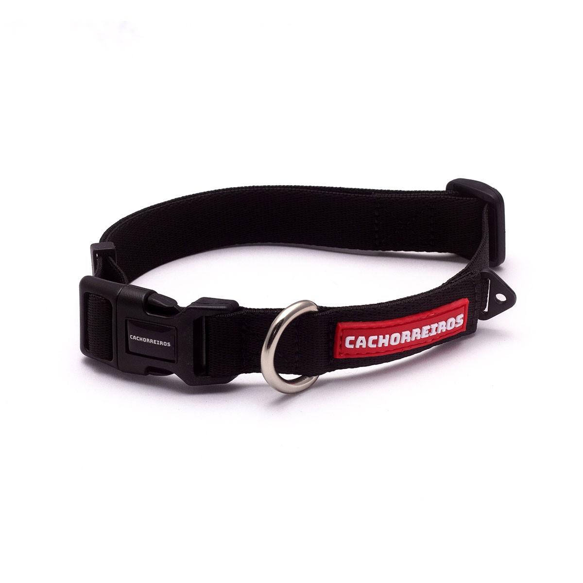 Coleira de pescoço para cães Cachorreiros Black