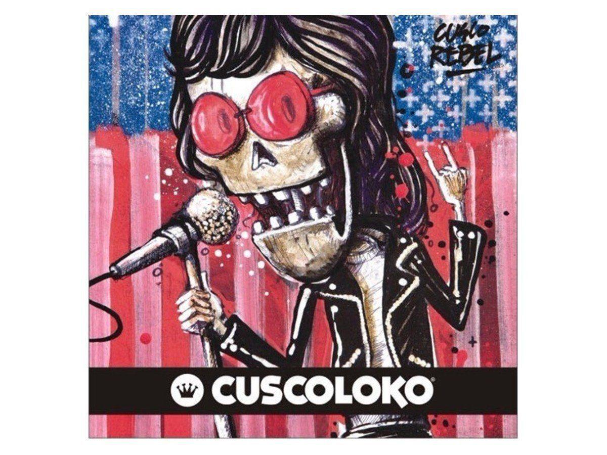 Coleira Peitoral Cuscoloko Ramones