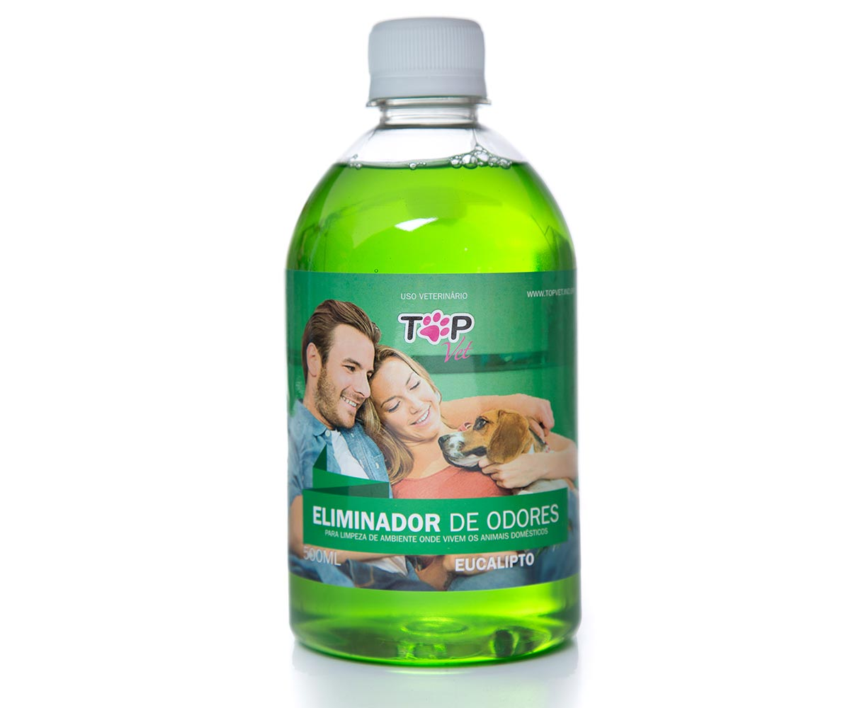 Eliminador de Odores Top Vet 500ml