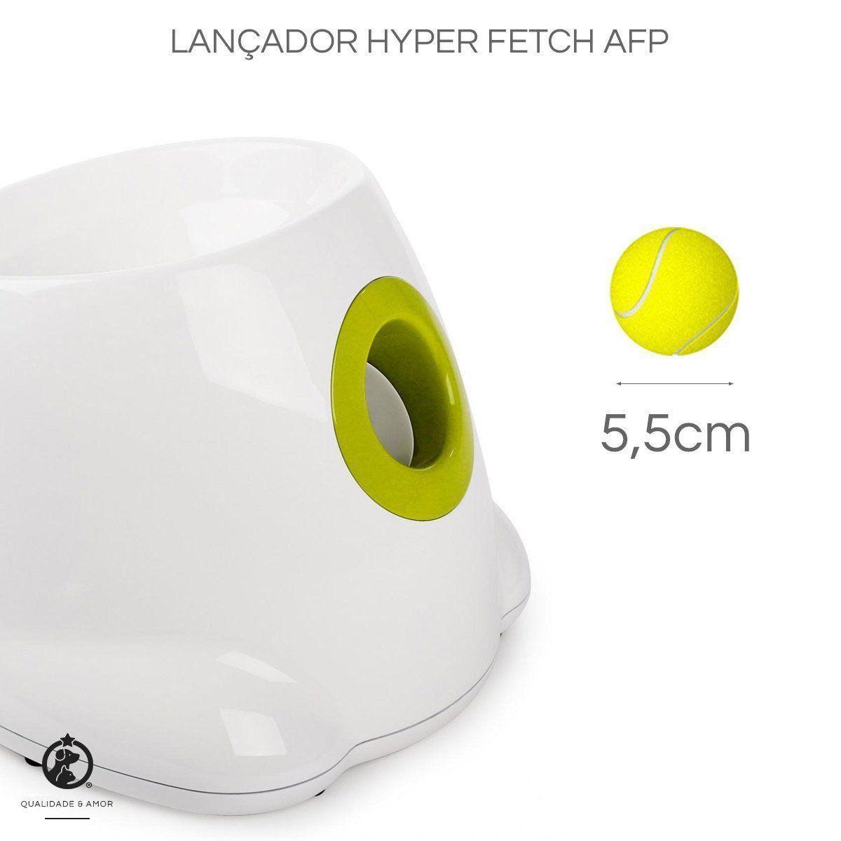 Kit 6un Bolinhas de Tênis para Fetch Interactive AFP