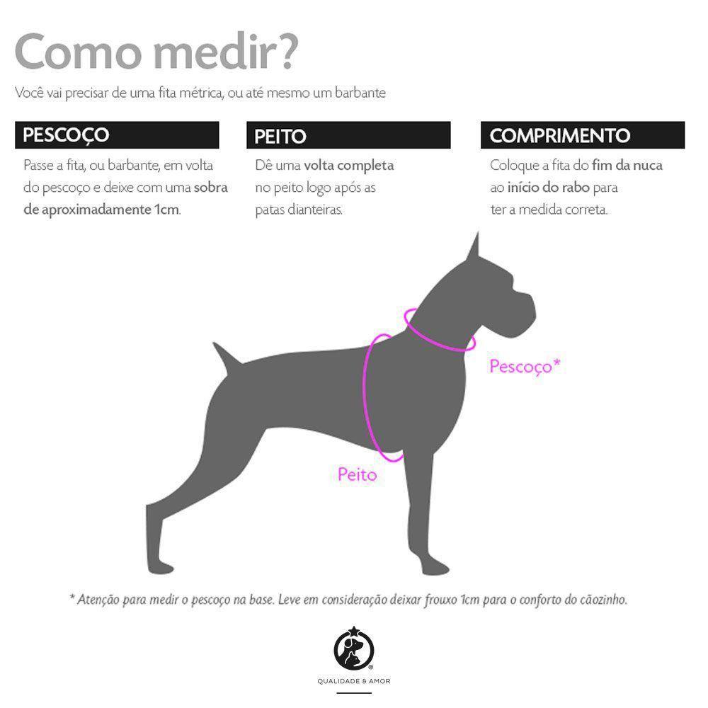 Kit Coleira Peitoral + Guia Superman™ para Cachorros