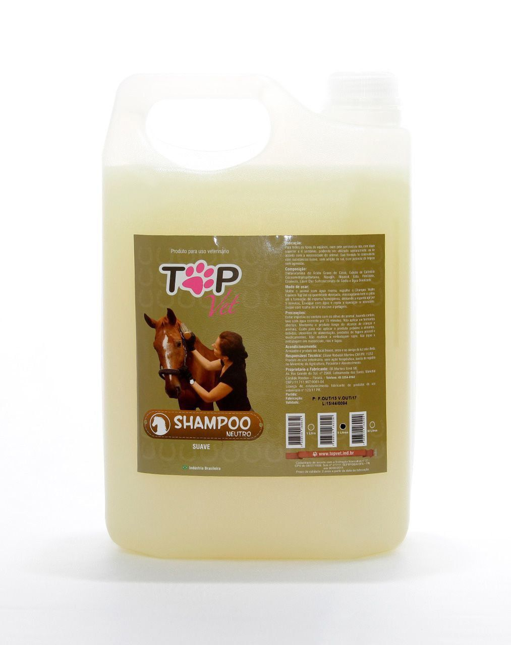 Kit Shampoo + Condicionador para Cavalos Top Vet