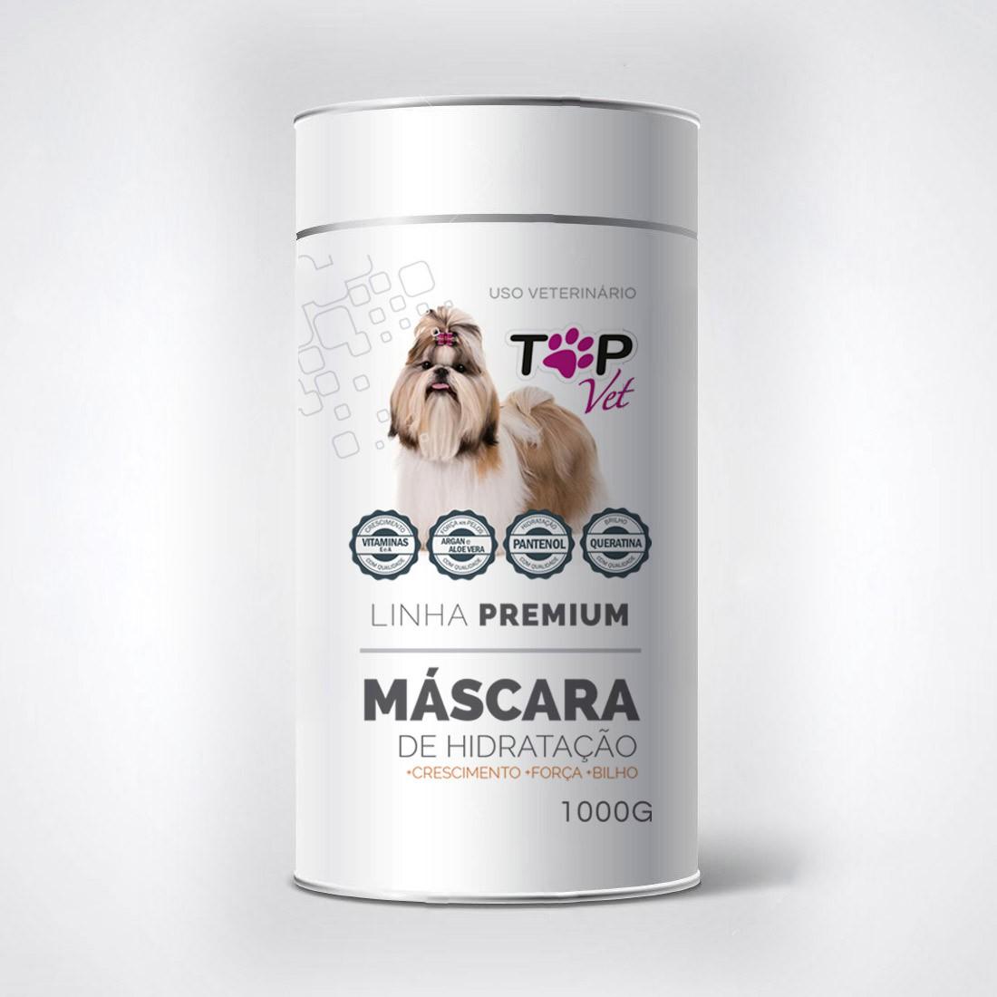 Máscara de Hidratação Pet 1kg Premium Top Vet