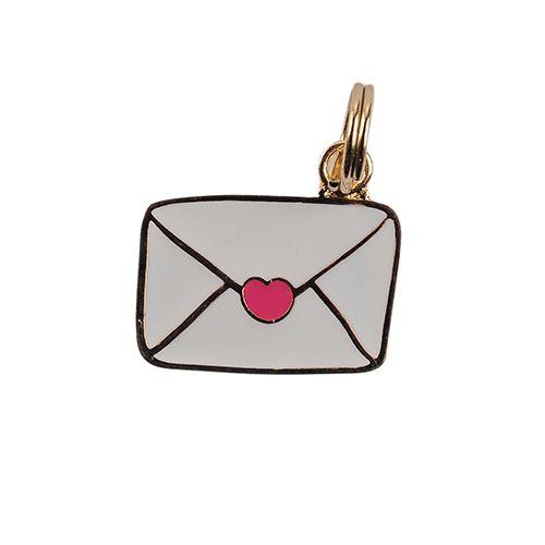 Pingente Envelope Esmaltado Woof Classic
