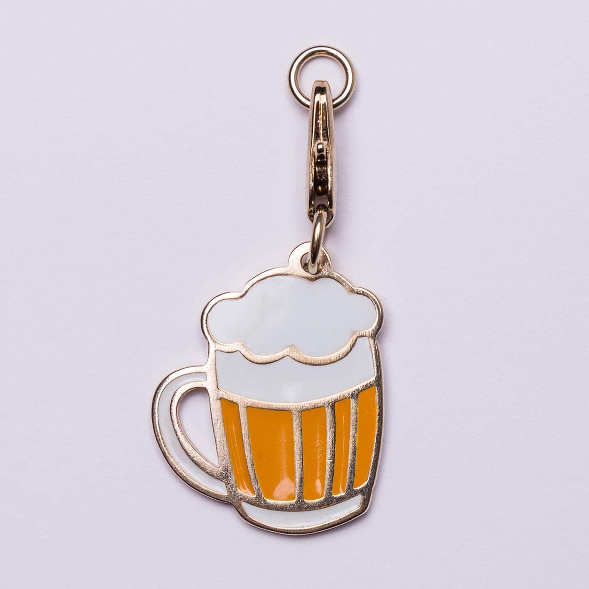 Pingente Esmaltado Bo.be Beer