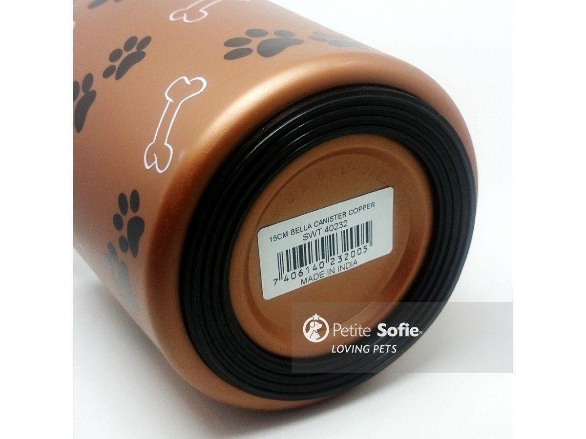 Pote para Ração Bella Canister® Copper