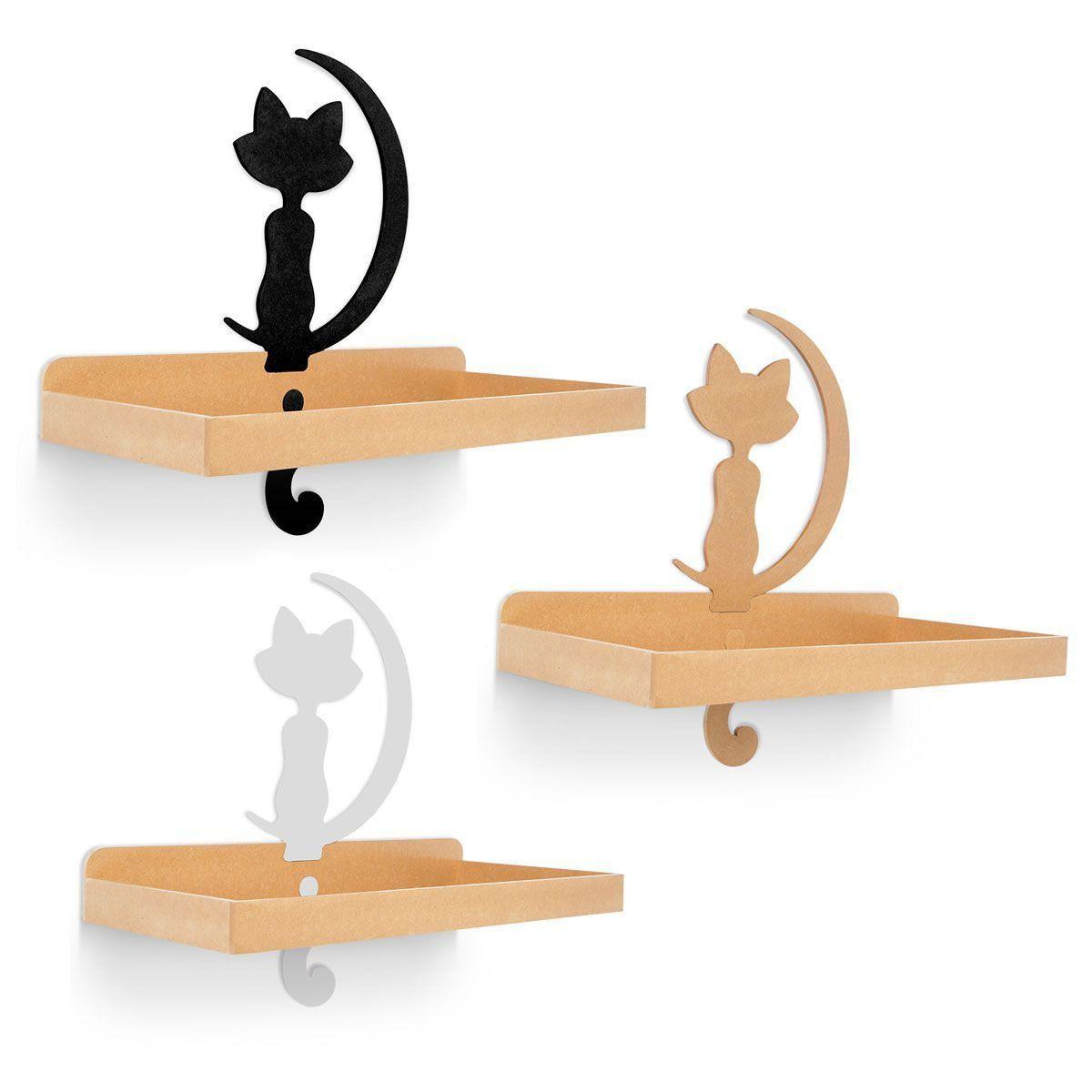 Prateleira de Parede para Gatos Carlu Pet Belvedere