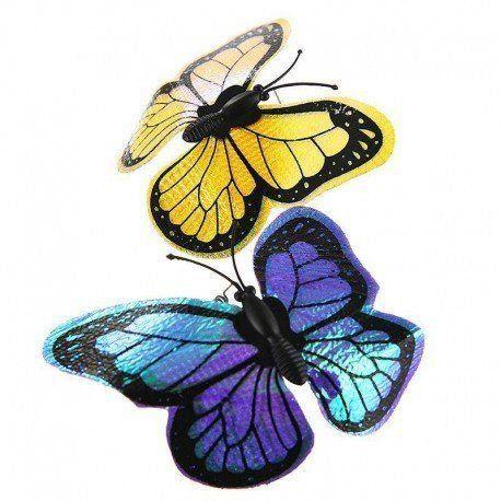 Refil de 6 Borboletas para Flutter Bug Interactive AFP