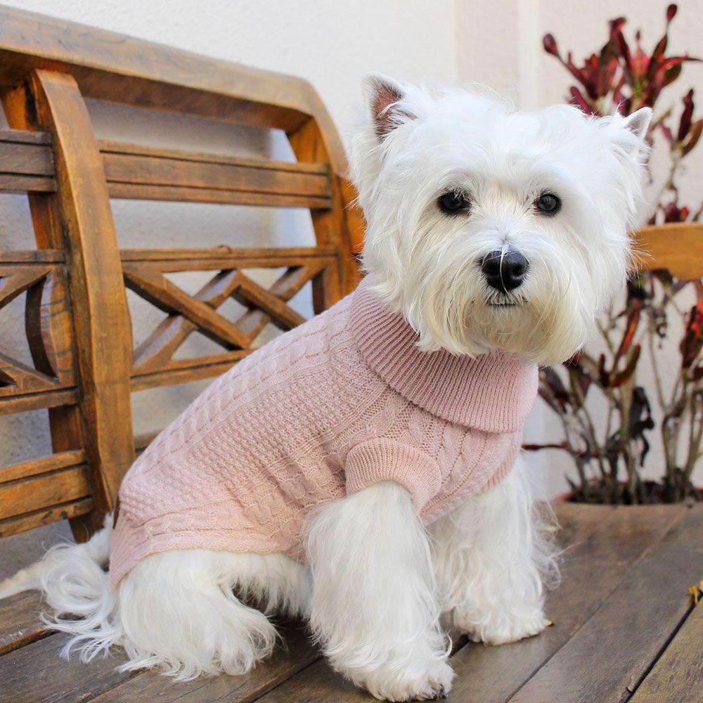 Roupa de Tricô Classic para cachorro Hello Pets