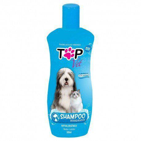 Shampoo Top Vet Branqueador Premium