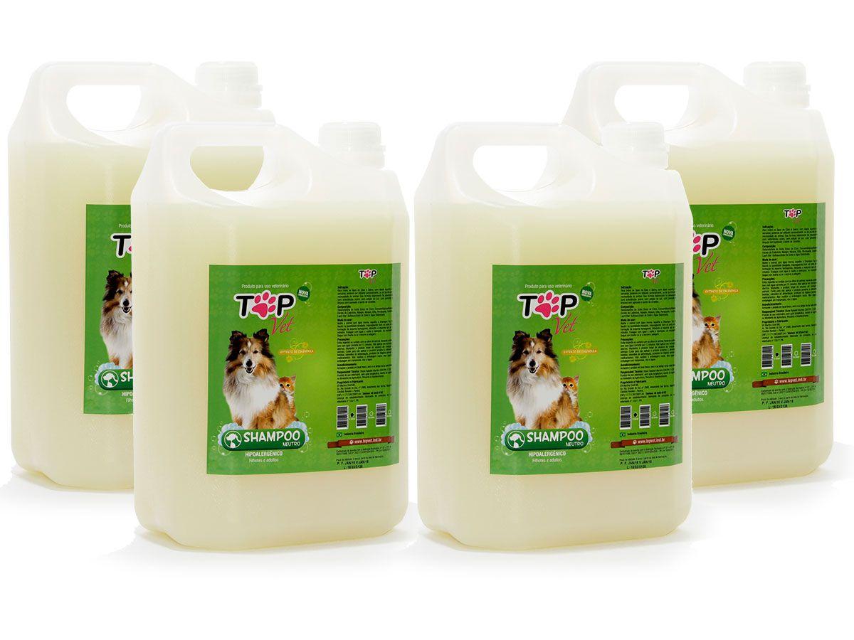 Shampoo Top Vet Neutro Premium 5L