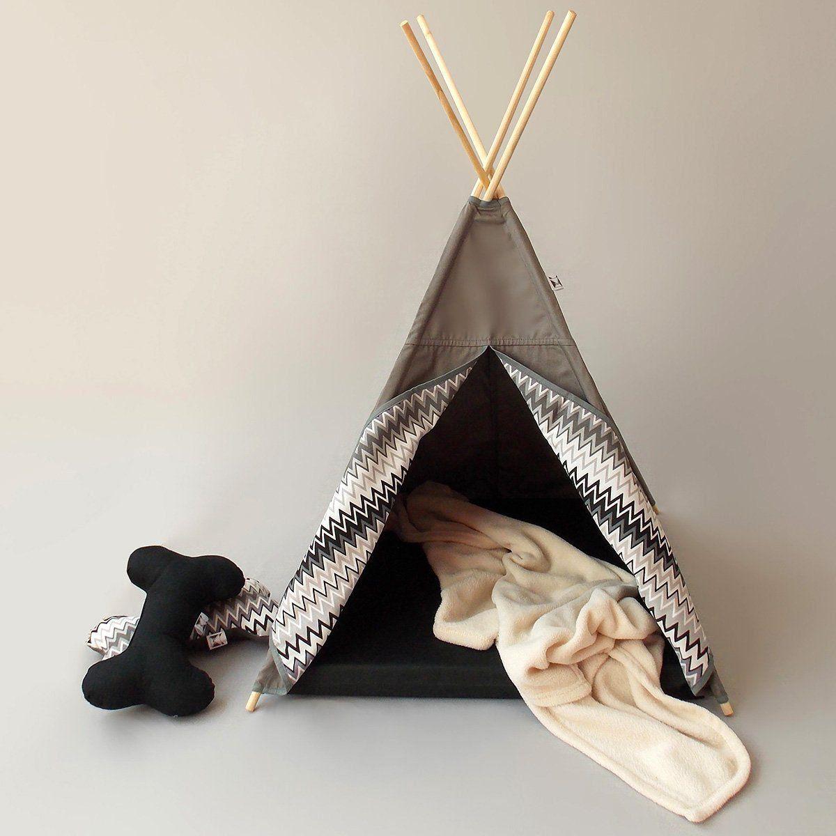 Tenda para Cachorro Beds for Pets Grey