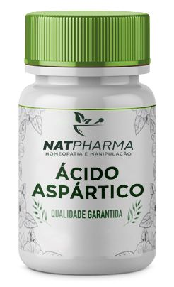 Ácido Aspártico 1g - 60 caps