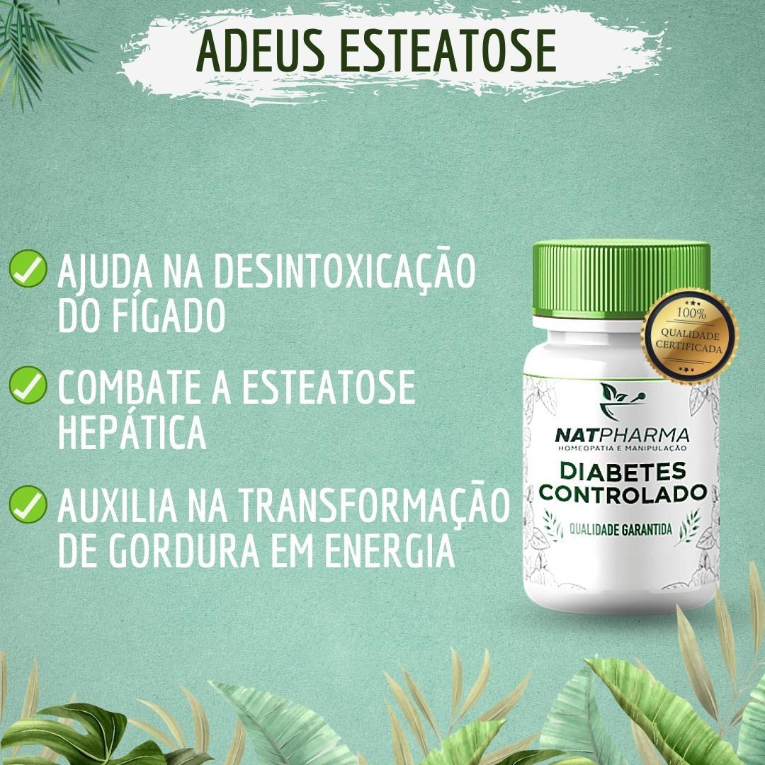Adeus Esteatose - Desintoxicação do fígado (Fígado Gorduroso/Esteatose Hepática) - 30 caps