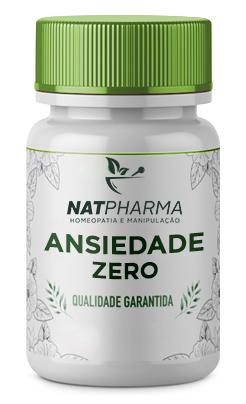 Ansiedade ZERO - Combate a ansiedade, depressão, stress e irritabilidade - 90 caps