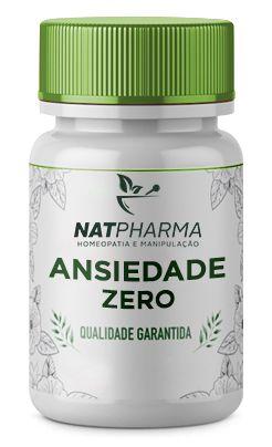 Ansiedade ZERO - Trata a ansiedade, compulsão alimentar e compulsão por doces - 60 caps