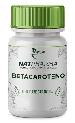 Betacaroteno 50mg - 60 caps