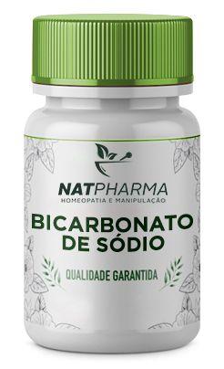 Bicarbonato de Sódio 100mg - 60 caps