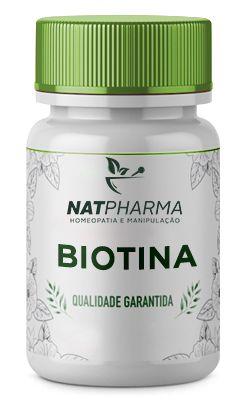 Biotina (Vitamina H) 5mg - 60caps