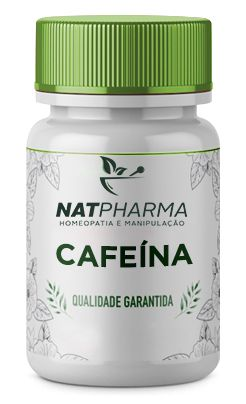 Cafeína 210mg - 60 caps
