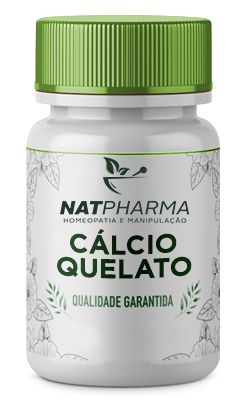 Cálcio Quelato 500mg - 60 caps