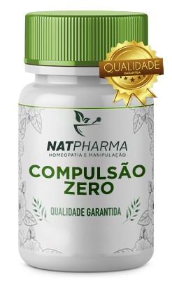 Compulsão ZERO  - Combate a compulsão alimentar e compulsão por doces - 30 caps