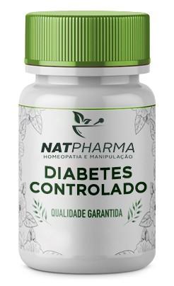 DIABETES CONTROLADO - Controle a sua glicemia de forma natural - 60 caps