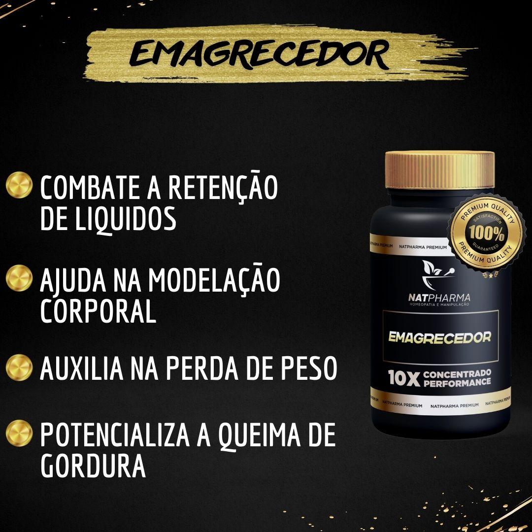 EMAGRECEDOR - Auxilia na desintoxicação do organismo - 60 caps