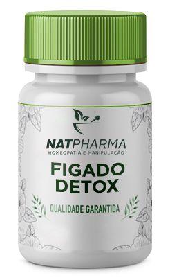 Figado DETOX - Desintoxicação do fígado (Fígado Gorduroso/Esteatose Hepática) - 30 caps