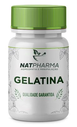 Gelatina 400mg - 60 caps