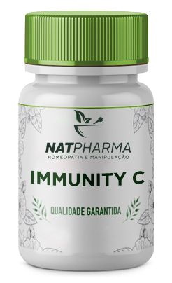 Immunity C - Antioxidante que aumenta a imunidade - 30 caps