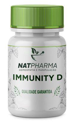 Immunity D - Melhora a imunidade e a saúde óssea - 60 caps