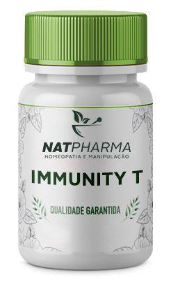 Immunity T - Aumenta os leucócitos (Imunidade) é anti-inflamatório e antioxidante - 30 caps