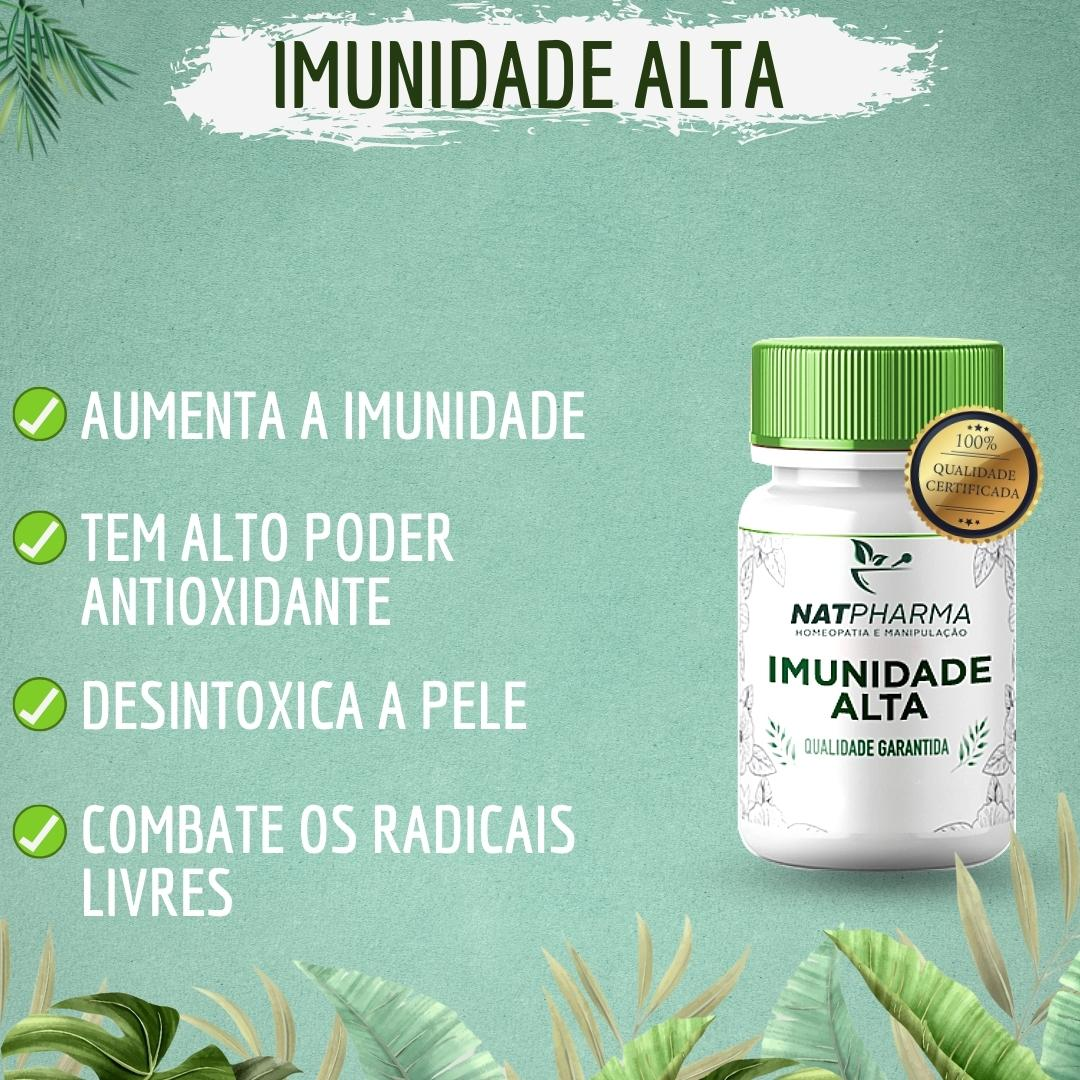 Imunidade ALTA - Antioxidante que aumenta a imunidade - 60 caps