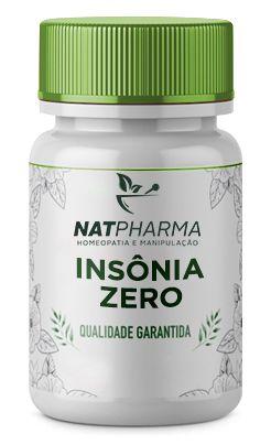 Insônia ZERO - Combate a insônia e melhora o sono - 30 caps