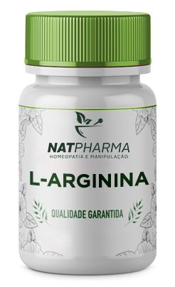 L- arginina 500mg - 60 caps